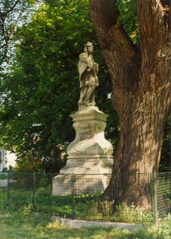 Barokní socha sv. Jana